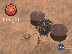 immagine del lander InSight atterrato