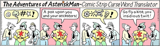 The Adventures Of Asterisk Man