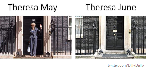 Theresa May vs Theresa June